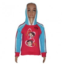 Chhota Bheem Hoodies - Fuchisa and Blue