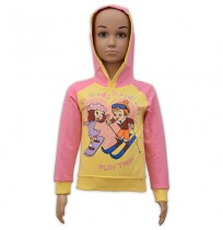 Chutki Hoodie - Yellow and Pink