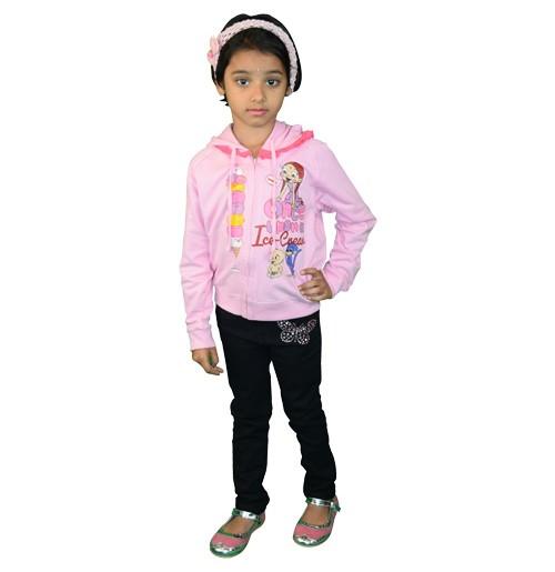 Chutki Hoodie - Pink