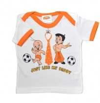Infant Wear - White and Orange