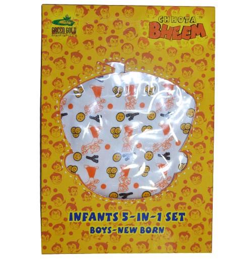 New Born 5-IN-1 Set - Orange
