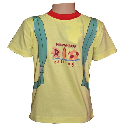 Mighty Raju Rio Calling T-Shirt  - Yellow