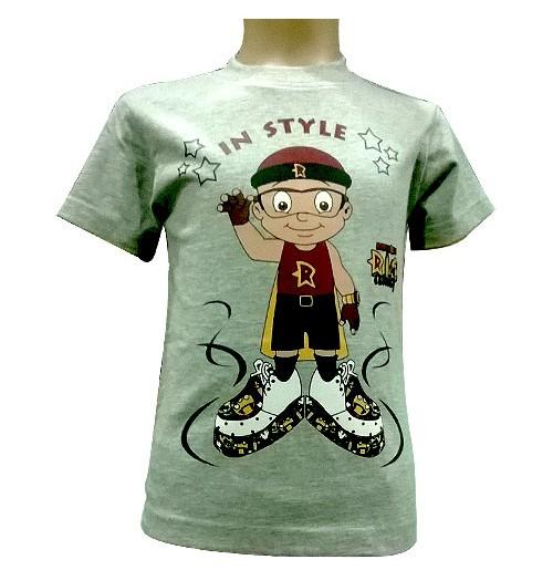 Mighty Raju T-Shirt - Grey