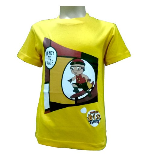 Mighty Raju T-Shirt - Yellow