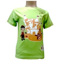 Mighty Raju T-Shirt - Green