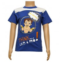 Chhota Bheem Printed Boys T-Shirt - Blue