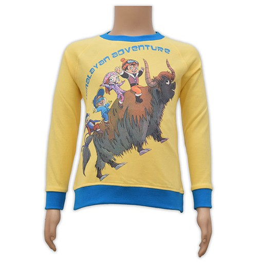 Chhota Bheem Sweat Shirt - Yellow