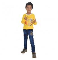 Chhota Bheem Sweat Shirt-Yellow