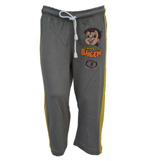 Track Pant - Grey and Yellow