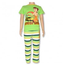 Chhota Bheem Night Suit - Green
