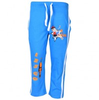 Mighty Raju Track Pant - Med Blue