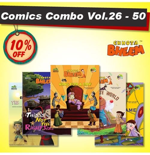 Chhota Bheem Comic Combo Offer - 2