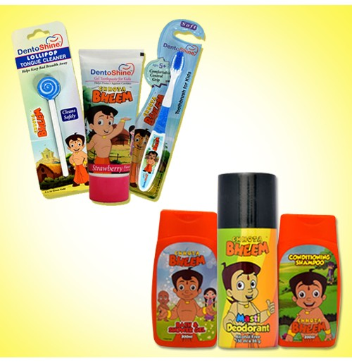 Chhota Bheem Personal Care Combo