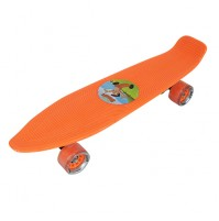 Chhota Bheem Skateboard Plastic-Orange