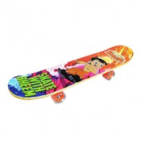 Chhota Bheem Skateboard Wooden-Multicolor
