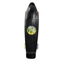 Kung Fu Dhamaka Chhota Bheem Skate Board Glow Sticker Black