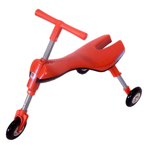 Chhota Bheem Foldable Three Wheel Kids Ride-On Toys - Red
