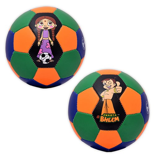 Chhota Bheem and Chutki 2 Foot Ball Combo Set