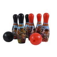 Kung Fu Dhamaka & Friends 6 Pins Bowling set