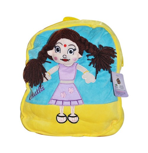 Chutki Bag Pack - Yellow