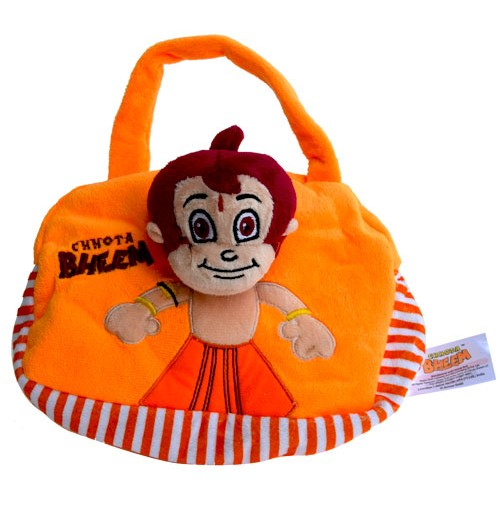 Chhota Bheem Hand Bag - Orange