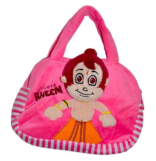 Chhota Bheem Hand Bag - Pink