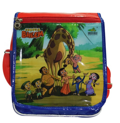 Chhota Bheem Trendy Flap Bag - Blue