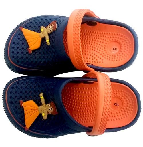 Chhota Bheem Clog - Navy and Orange