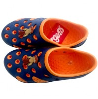 Chhota Bheem Clog - Orange and Navy