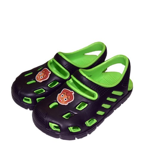 Chhota Bheem Clog - Black and Green