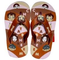 Chhota Bheem Flip Flop - Meroon