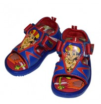 Chhota Bheem Sandal - Blue and Red