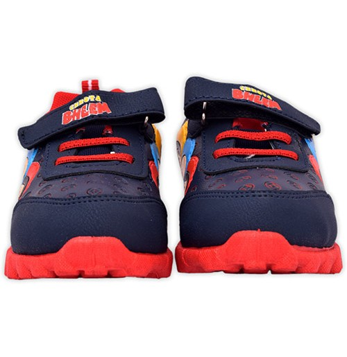 Chhota Bheem Shoes - Navy Blue and Red