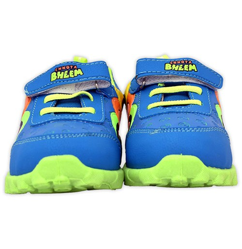 Chhota Bheem Shoes - Blue and Green