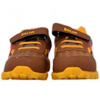 Chhota Bheem Shoes - Brown and Yellow