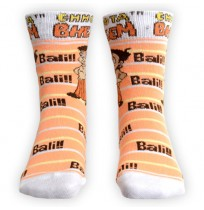 Chhota Bheem Socks - Orange