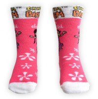 Chutki Socks - Pink