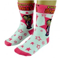 Girls Socks - Full Length - Fuschia