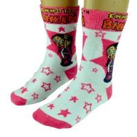 Girls Socks - Full Length - Fuschia