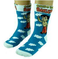 Boys Socks - Full Length - Sky Blue
