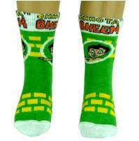 Boys Socks - Full Length - Green