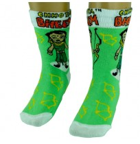 Boys Socks - Full Length - Parrot Green