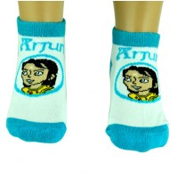 Boys Socks - Ankle Length - Turquoise