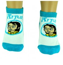Boys Socks - Ankle Length - Turquoise