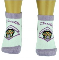 Girls Socks - Ankle Length - Violet