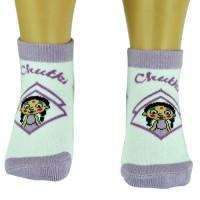 Girls Socks - Ankle Length - Violet