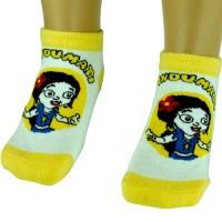 Girls Socks - Ankle Length - Yellow