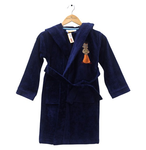 Kids Bathrobe Blue