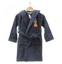 Kids Bathrobe Grey