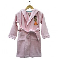 Kids Bathrobe Rose